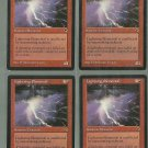 Lightning Elemental x4 NM Tempest Magic the Gathering