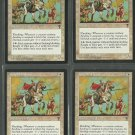 Knight of Valor x4 NM Visions Magic the Gathering