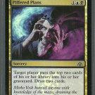 Pilfered Plans - NM - Foil - Dragons Maze - Magic the Gathering
