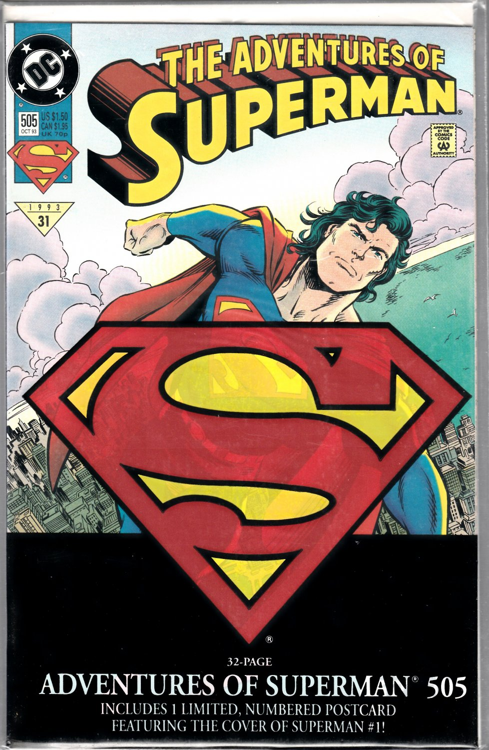 The Adventures of Superman #505 Bagged