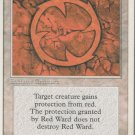 Red Ward - Good - 4th Edition - Magic the Gathering