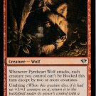 Pyreheart Wolf - NM - Dark Ascension - Magic the Gathering