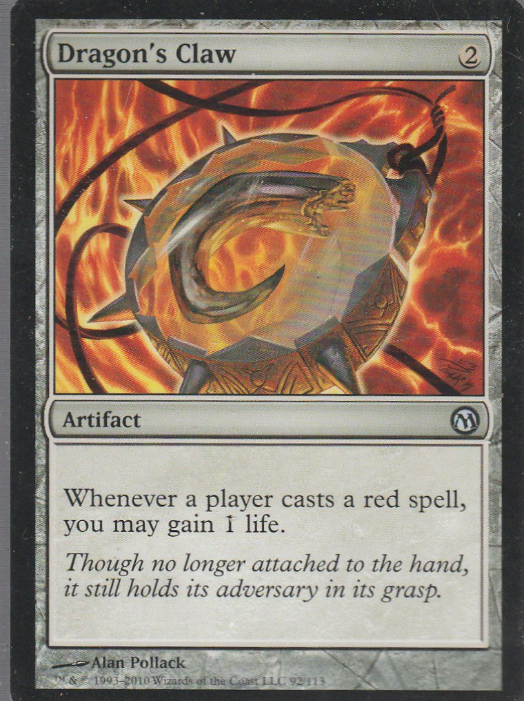 Dragons Claw - NM - Duels of the Planeswalkers - Magic the Gathering