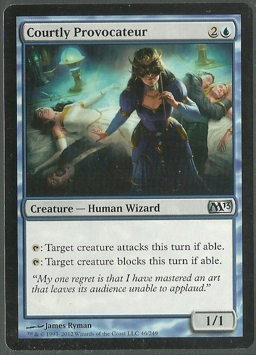 Courtly Provocateur - NM - Magic 2013 - Magic the Gathering