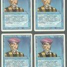 Prodigal Sorcerer x4 - NM - Revised - Magic the Gathering