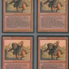 Orcish Spy V1 x4 - Good - Fallen Empires - Magic the Gathering