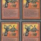Goblin War Drums V1 x4 - Good - Fallen Empires - Magic the Gathering