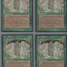 Elven Fortress V4 x4 - Good - Fallen Empires - Magic the Gathering