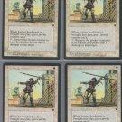 Icatian Javelineers V3 x4 - Good - Fallen Empires - Magic the Gathering