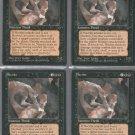Necrite V3 x4 - Good - Fallen Empires - Magic the Gathering