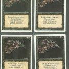 Terror x4 - NM - Revised - Magic the Gathering