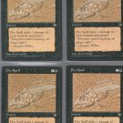 Dry Spell V1 x4 - Good - Homelands - Magic the Gathering