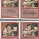 Gray Ogre x4 - NM - Revised - Magic the Gathering