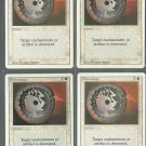 Disenchant x4 - NM - Revised - Magic the Gathering