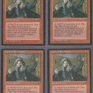 Agent of Stromgald V1 x4 - VG - Alliances - Magic the Gathering