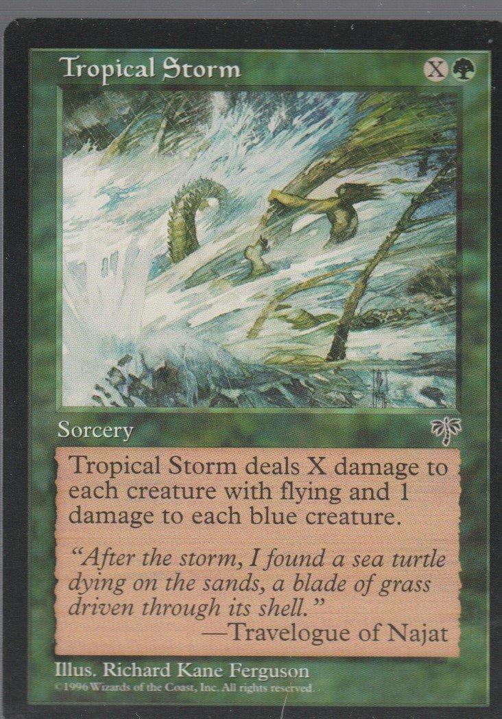 Tropical Storm - Good - Mirage - Magic the Gathering