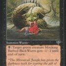 Barbed-Black Wurm - Good - Mirage - Magic the Gathering