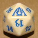 Life Counter Die - NM - White/Blue - Dragons Maze - Magic the Gathering