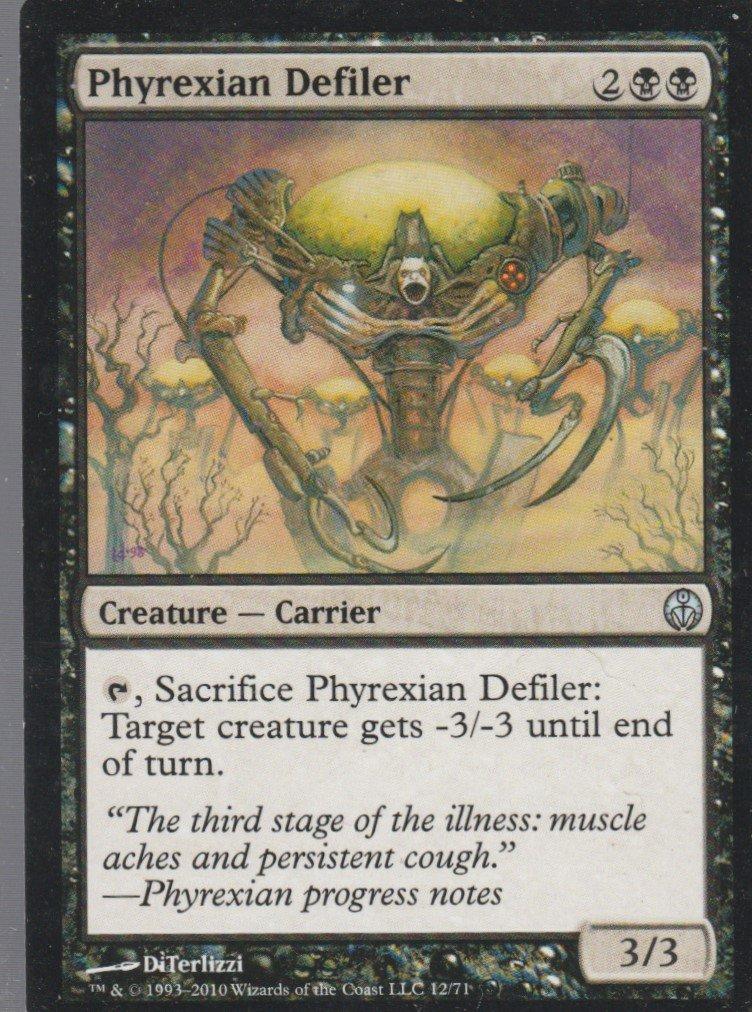 Phyrexian Defiler - VG - Phyrexia vs Coalition - Magic the Gathering