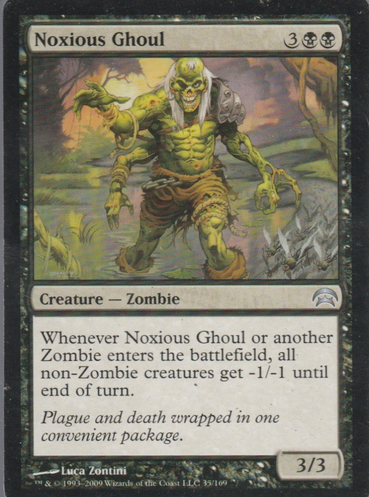 Noxious Ghoul - VG - Planechase - Magic the Gathering