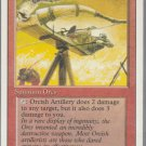 Orcish Artillery - VG - Revised- Magic the Gathering