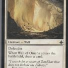Wall of Omens - VG - Rise of the Eldrazi- Magic the Gathering