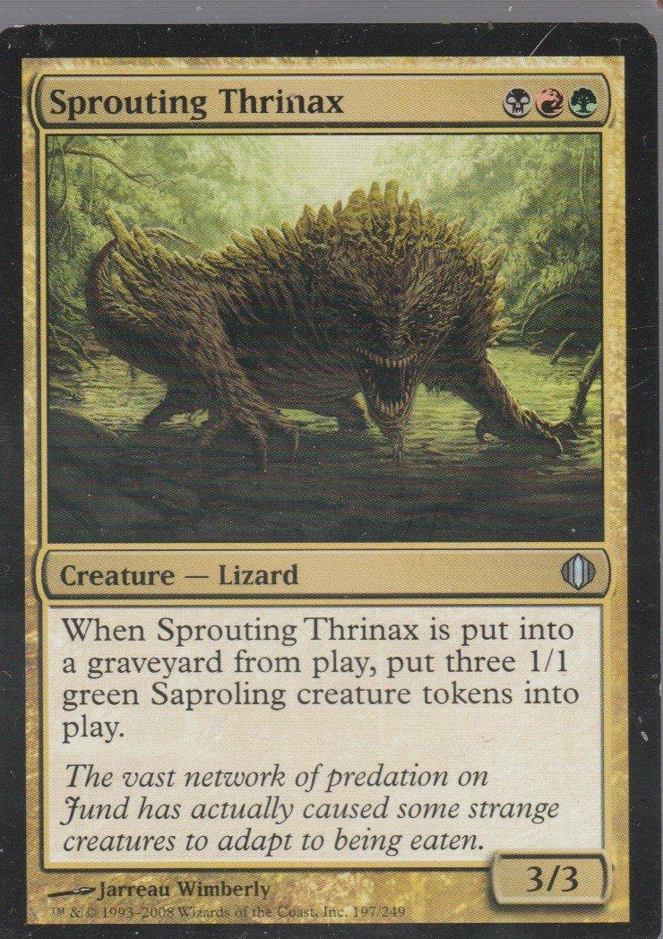 Sprouting Thrinax - VG - Shards of Alara - Magic the Gathering