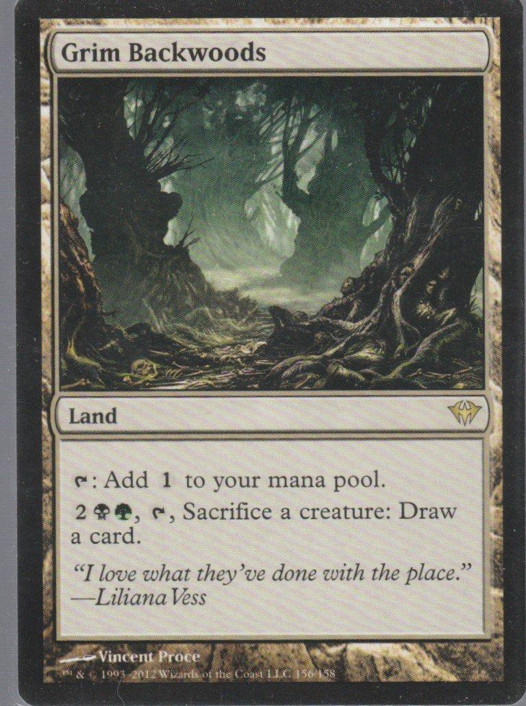 Grim Backwoods - NM - Dark Ascension - Magic the Gathering