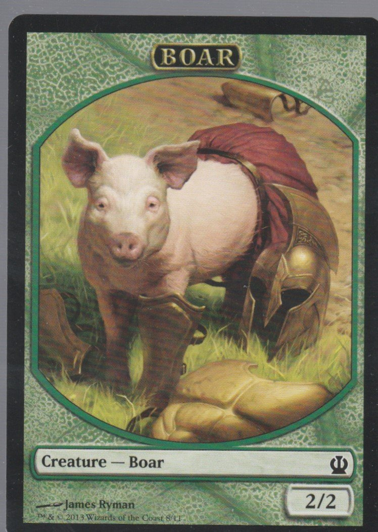 Boar - NM - Theros - Magic the Gathering