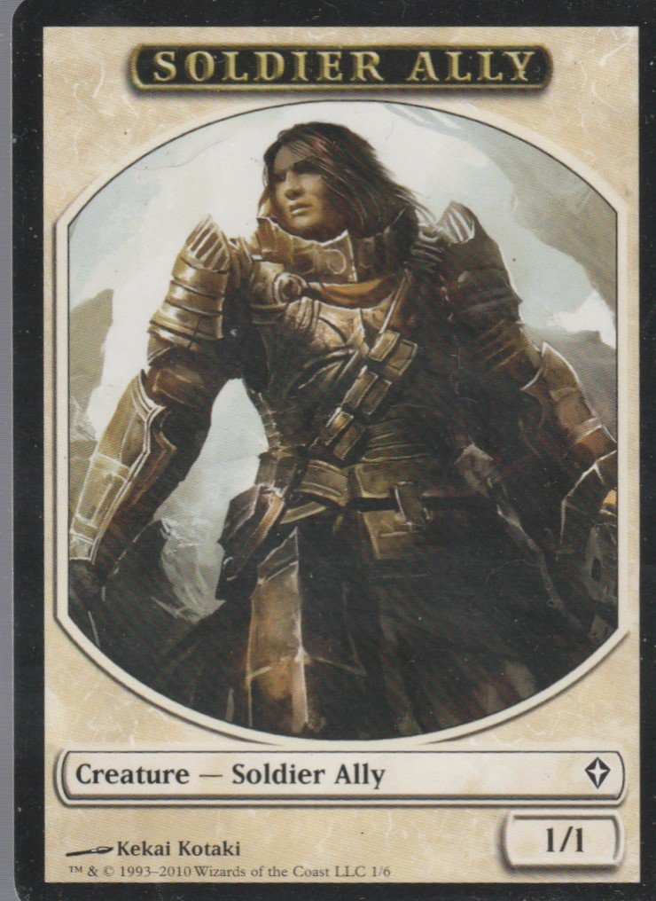 Soldier Ally - NM - Worldwake - Magic the Gathering