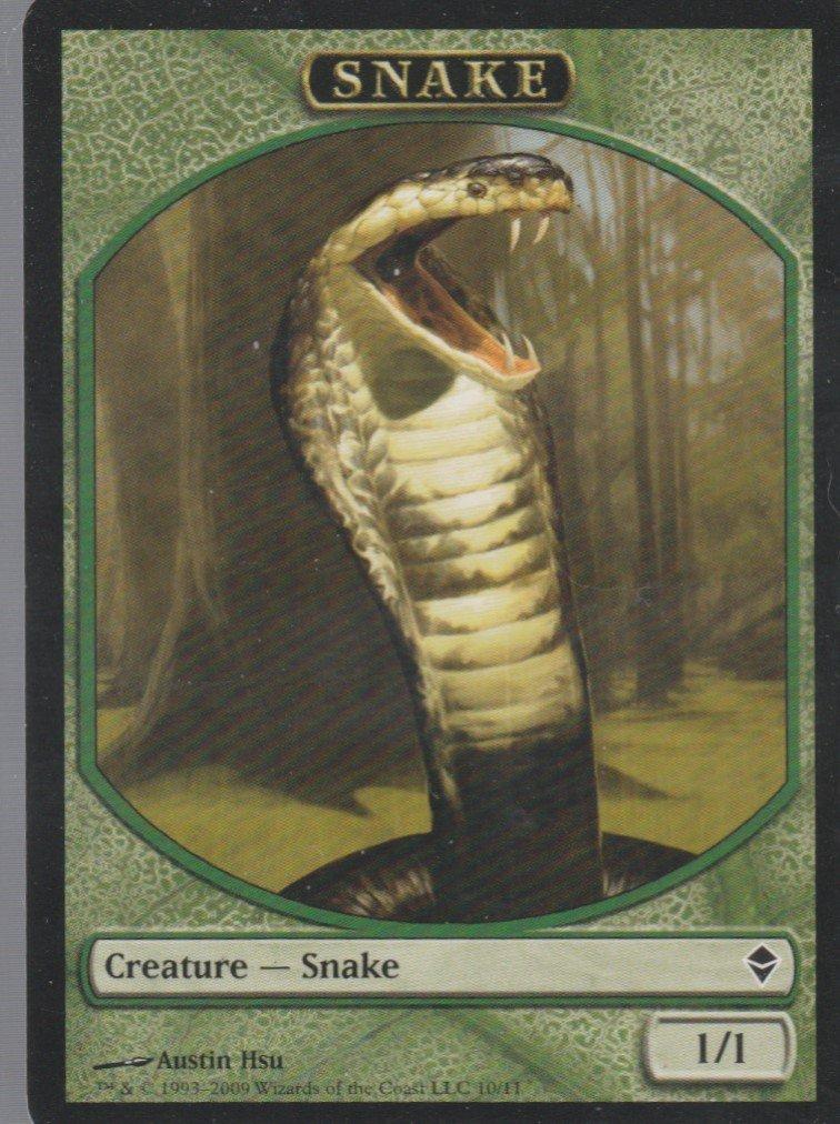 Snake - NM - Zendikar - Magic the Gathering