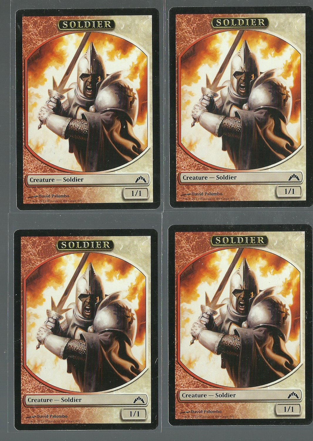 Soldier x4 - NM - Gatecrash - Magic the Gathering