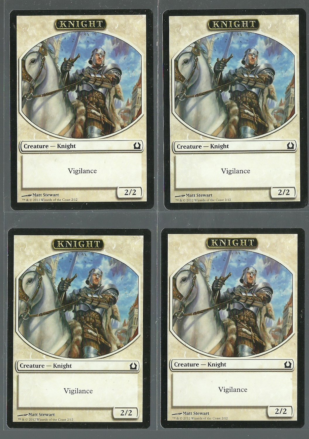Knight x4 - NM - Return to Ravnica - Magic the Gathering