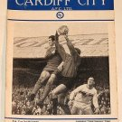 CARDIFF CITY v PORT VALE - 26.JAN.66- Football Programme
