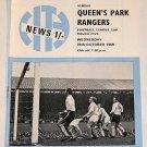 MANCHESTER CITY v QPR - 29.OCT.69 - Football Programme