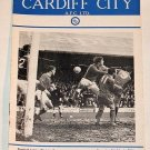 CARDIFF CITY v BOLTON WANDERERS - 05.MAR.66 - Football Programme
