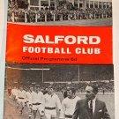 SALFORD v HUDDERSFIELD - 26.FEB.70 - Football Programme