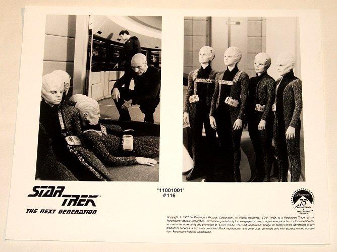 "STAR TREK : NEXT GENERATION : Show 116 ""11001001"" publicity photo"