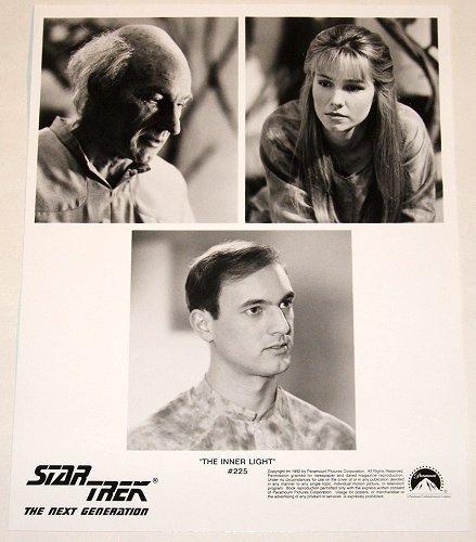 "STAR TREK : NEXT GENERATION : Show 225 ""The Inner Light"" publicity photo"