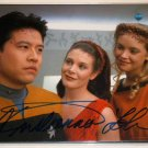 STAR TREK Kristanna Loken - Signed picture as Malia in Star Trek - with COA