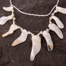 Handmade Oyster-like Shell Necklace
