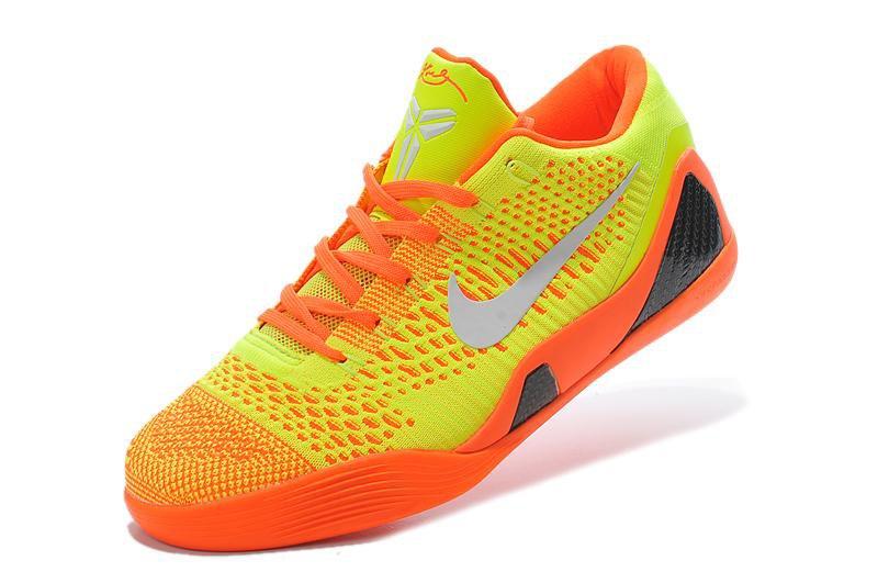 Nike Kobe 9 Elite Low Orange Yellow