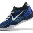 2013 New Nike Zoom Kobe 8 Shoes Navy Blue Black White
