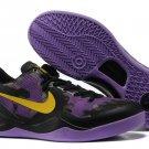 Nike Zoom Kobe 8 Shoes Mesh Purple Black gold