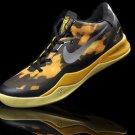 Nike Zoom Kobe 8 VIII Shoes Black Yellow