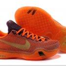 2015 new Nike Zoom Kobe X (10) orange men basketball shoes