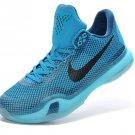 Nike Zoom Kobe X (10) EM XDR men basketball shoes blue black
