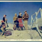 ACTION OF THE TIGER ~Orig '57 Color Movie Photo ~  VAN JOHNSON / MARTINE CAROL / ANNA GERBER