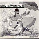 The ARISTOCATS ~ '71 WALT DISNEY Cartoon Movie Photo ~  2 HOUNDS