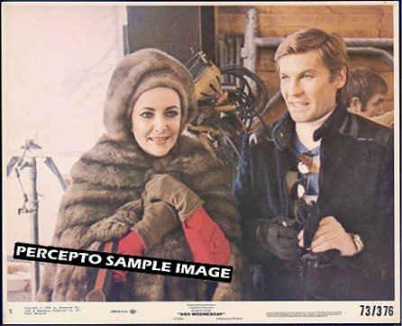 ASH WEDNESDAY ~ Orig '73 Movie Photo ~ HELMET BERGER / LIZ TAYLOR